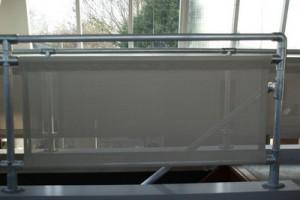 balustrade schermen